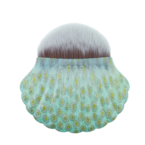 Shell-förmige professionelle Gesichts Make-up-Tool einzigen Mermaid Foundation Kosmetik Pinsel