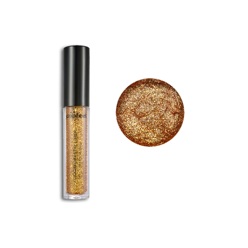 Новый макияж Loose Pigment Shadows Eye Mineral Powder Gold Red Metallic Focallure Loose Glitter Eyeshadow Color