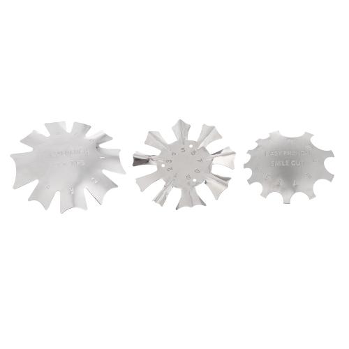 Nail Art Manicure Edge Trimmer Nail Cutter Ferramenta de arte de unha francesa para Easy Smile Line Nail Acrylic Tool