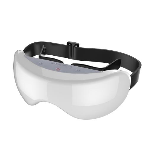 3D Wiederaufladbare Grüne Licht Auge Instrument Augenmüdigkeit Puls Relief Wiederherstellen Vision Eye Massager Kind Myopie Behandlung Massage Brillen