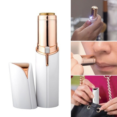 Women Lipstick Shape Shaver Mini Portable Electric Flawless Painless Facial Epilator Wax Hair Removal Shaver Trimmer Devices