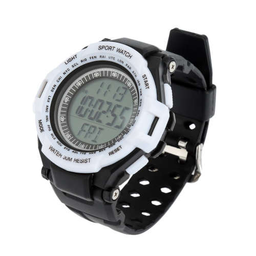 Heart Rate Monitor with Pedometer Men Women Digital Sports Watch Calorie Counter with Chest Strap