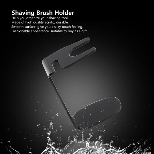 Profesional brocha de afeitar del sostenedor
