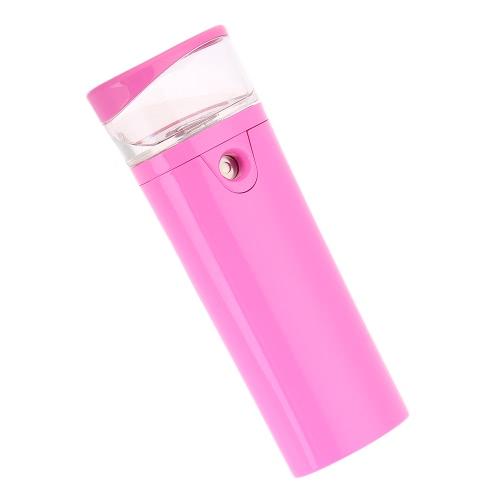 Nano práctico de la niebla de belleza hidratante agua portable nano dispositivo móvil Mni banco de la energía 2600mAh instrumento de la belleza hidratante hidratante cuidado de la cara