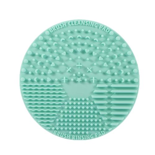Макияж Кисть Чистка коврик Силиконовая косметическая щетка Мойка Щетка Щетка для скруббера с задней присоской
