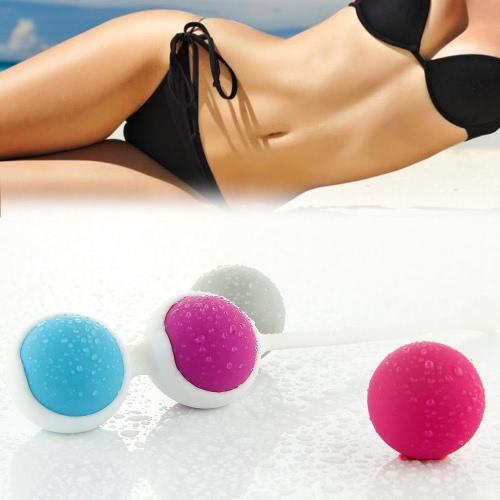Anself Vaginal Ball Silicone Kegel Ball Koro Ball Vagina Tight Exercise Vaginal Dumbbell Beads Vaginal Balls Trainer Waterproof 4