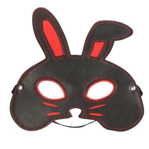 Kaninchen SM Blindfold Fetisch Augenklappe Nachtclub Augenmaske Erotikspiele Erotische Spielzeug für Paare Flirten Adult Sex Toy