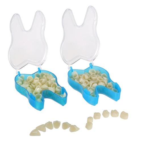 2packs Pro dentária provisória Crown Materiais Dentários dentes anteriores dianteiro & Molar Posterior Nature Cor produtos dos dentes do dentista