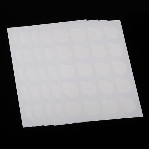 100pcs Dispositivo de cola de cílios descartáveis Pallet Eyelash Extension Glue Pads Stand On Eyelash Glue Patches Sticker Small Size 2.5cm
