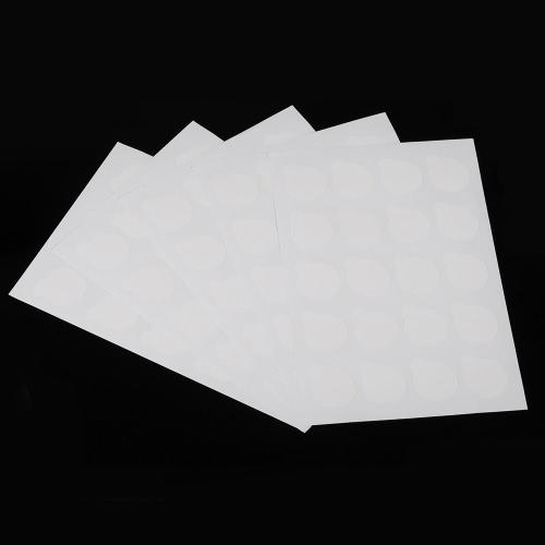 100個の使い捨てまつげの接着剤パレットのまつげの拡張の接着剤のパッドは、まつげの接着剤のパッチのステッカーの上に立つ小さいサイズ2.5センチメートル