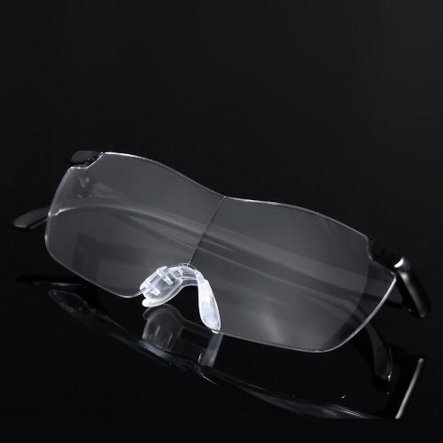 収納袋を付けた5倍の160倍の眼鏡