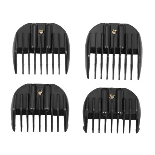 4 Tamanhos Limit Pele Peep Clipper Guide Attachment for Electric Hair Clipper Shaver Salon Haircutting Tool