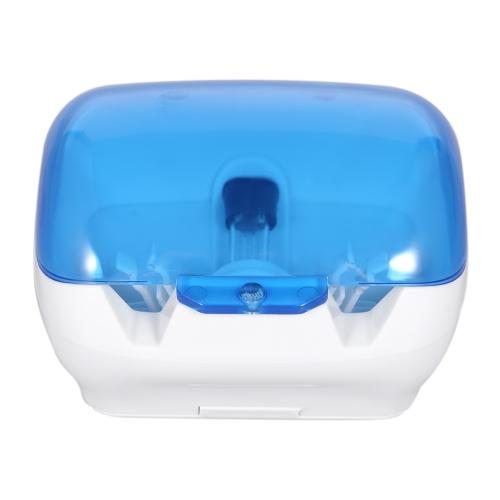 Зубная щетка УФ-дезинфекционная коробка Ультрафиолетовая стерилизатор для зубных щеток Антибактериальные