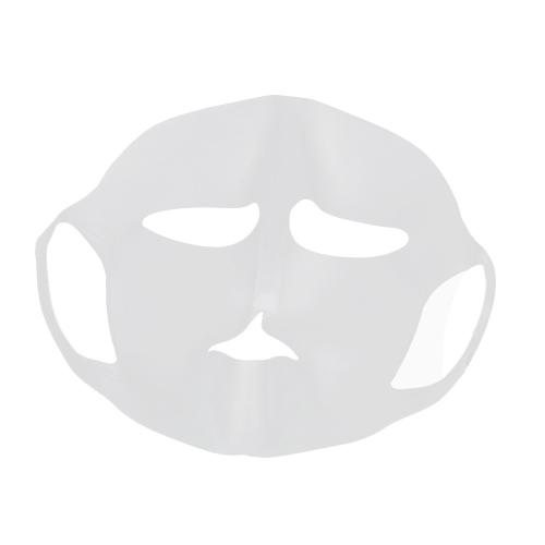 1 Stück Wiederverwendbare Silikonmaske Abdeckung Silikon Feuchtigkeitsspendende Gesichtsmaske Multifuntional Maske für Blatt Maske Verhindern Verdampfung Mit Anti-Slipping Ohr Loops