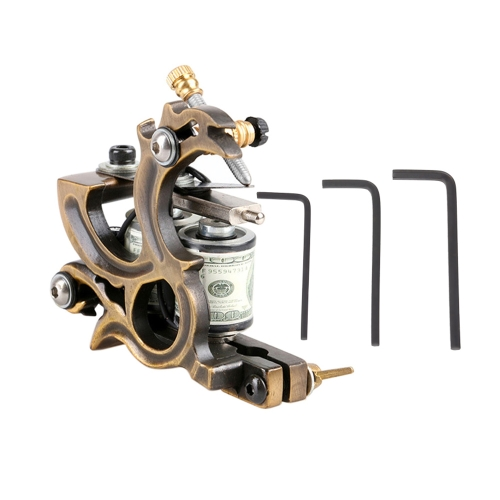 Tattoo Machine Professional Tattoo Motor Dragon Casting Coil Tattoo Machine Gun Shader & Liner Machine Body Tattoo Machine