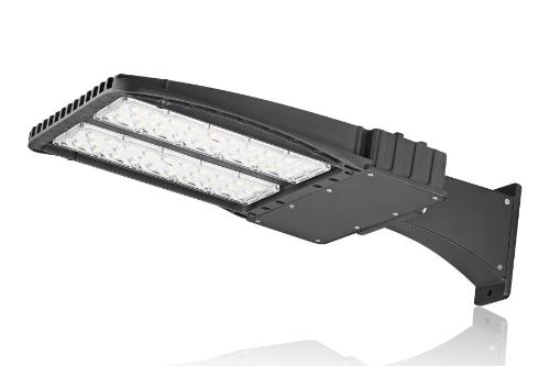 200W 22400LM imperméabilisent la parenthèse extérieure commerciale de BRAS de lumière de Polonais de Shoebox avec le chapeau de court-circuit
