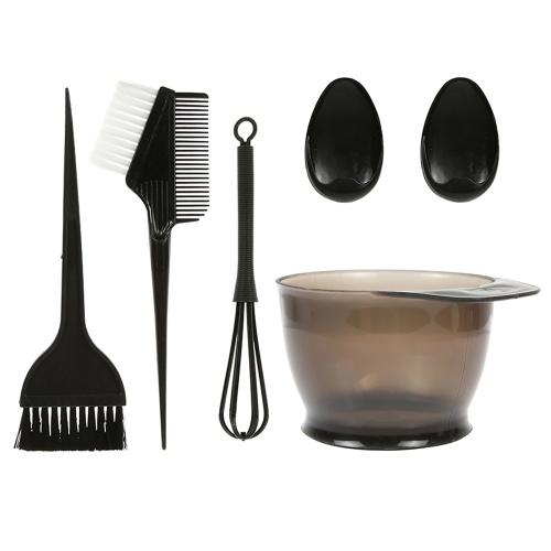 5PCS Hair Dye Color Brush and Bowl Set