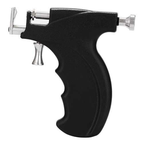 Professional Ear Stud Earring Piercing Gun Tools Kit Stainless Steel Reusable Earlobe Cartilage Nose Navel Body Piercing Gun Set