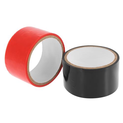 Adult Sex Tape Pleasure Tape BDSM Non-adhesive Tape Static Bondage Sex Toys 10M Restraint Tape Electrostatic Adsorption Tape Black