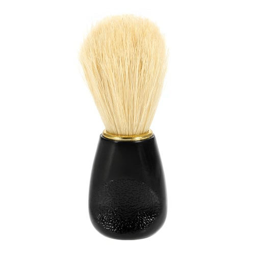 Мужской Щетина помазок Мужская Борода щетка для очистки ABS Ручка лица инструмент для очистки
