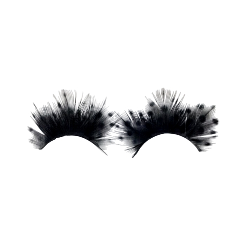 Super Hot Women Fancy Soft Long Feather Falsos Cílios Eye Lashes Makeup Party Club