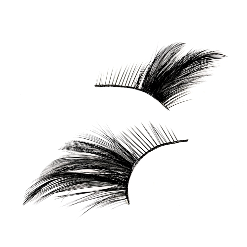 1 Par / paquete Peacock Fashion Long Artificial False Eyelashes