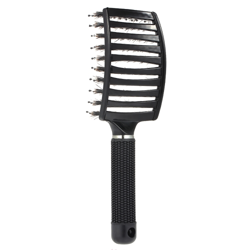 Cabelo Scalp Massagem Pente Nylon Hairbrush Mulheres Wet Curly Detangle Escova de cabelo para Salon Household Hairdressing Styling Tools
