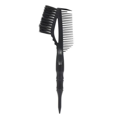 ラージティント/ダイブラシダブルエンドヘアカラーリング、尻尾付き染めブラシサロンヘアスタイルツールホーム使用