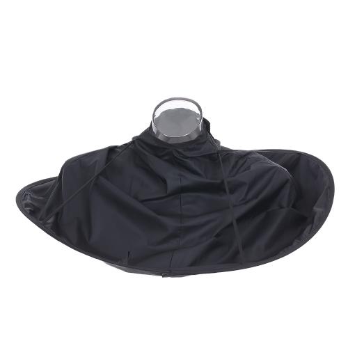 折りたたみ可能なヘアカットケープサロンバーバーエプロンの傘ケープヘアカラーのクロークヘアカットスカーフ大人の子供のための美容ツール