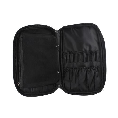 Portable Travel Makeup Brush Bag Cosmetic Bag Organizer Waterproof Large Capacity Multifunction Storage Case for Women