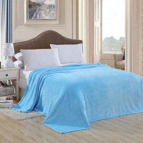 Новый мягкий теплый твёрдый теплый микро-плюшевый ошейник с подкладкой для постельного белья из коричневого цвета 50см * 70см