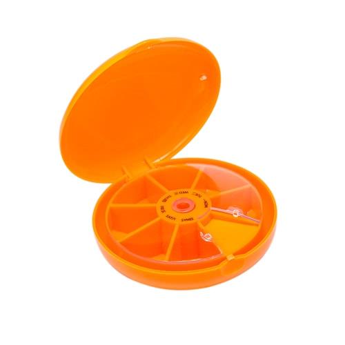 Путешествия 7-купон Pill Box Медицина Tablet держатель Организатор Диспенсер хранения случае Handheld ювелирные аксессуары