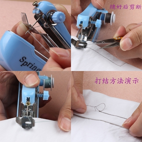 Mini Handheld Sewing Machine Home & Travel Use Portable Multi-Functional tenbeautiful