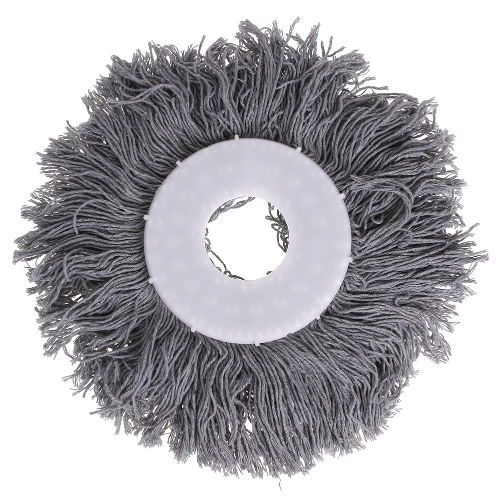 Спиннинг Magic Spin Mop Microfiber Вращающиеся головки Mop Floor Swob 4 Colors Grey