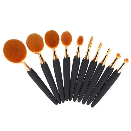 10Pcs Bee-Shaped Kit Nylon Hair Powder Укрыватель для макияжа