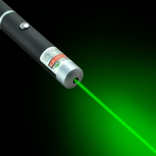 Luz del haz de la pluma del puntero láser rojo verde potente de 5mW
