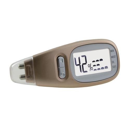 Analizador de la piel Probador Digital de precisión Pantalla LCD Cuidado de la piel del cuerpo facial Análisis de la suavidad del aceite de humedad Handheld
