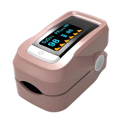 Сигнализация Цифровой оксиметр кислорода Кислородный датчик Fingertip Импульсный измеритель частоты сердечных сокращений OLED Display SpO2 Автоматическое выключение Мгновенное считывание Насыщенность