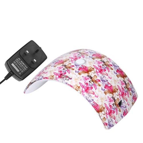 36W Светодиодная лампа для ногтей Ультрафиолетовая лак для ногтей для ногтей для ногтей и ногтей Гель для отверждения Белый свет Лак для ногтей для ногтей Инструмент для наращивания ногтей Дополнительный штепсель US / EU / UK / AU