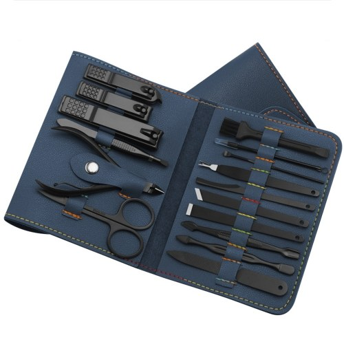 Набор для стрижки ногтей, триммер, набор для ухода за ушами, набор для маникюра, 16 шт. / Компл.