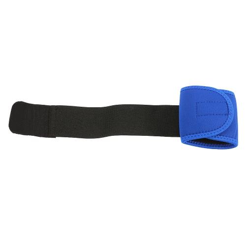 Sports Neoprene Wrist Wraps Brace Support Straps Adjustable Elastic Band Black for Men & Women Weight Lifting Body Building