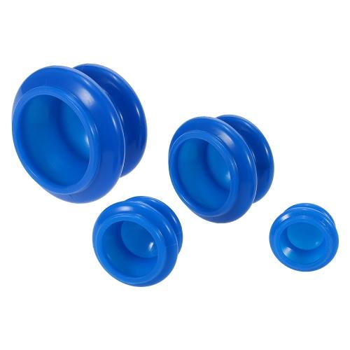 4 stücke 4 größe Silikon Feuchtigkeitsabsorber Vakuum Schröpfen cupFace Beine Arme Pflege Behandlung
