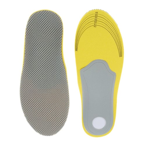 1 пара Обувь Подушка Плоскостопие Вставка стелька Arch поддержка Обувь Pad спорта Стелька облегчения боли обувь Стелька Малый размер