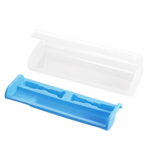 1pc elektrische Zahnbürste Fall Zahnbürste Spielraum-Speicher-Box Zahnbürste schützen kampierende Zahnbürste Kast