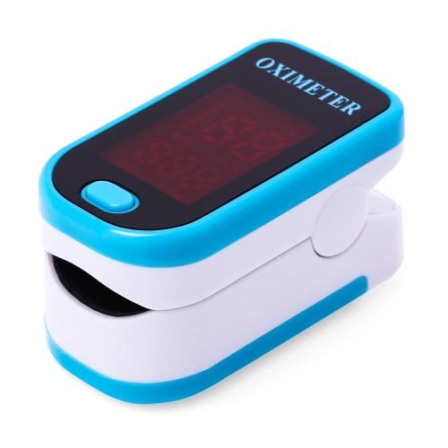 Istant Read Fingertip Импульсный пульсометр Оксиметр Портативная кровь Насыщенность кислорода SpO2 Монитор Светодиодный дисплей