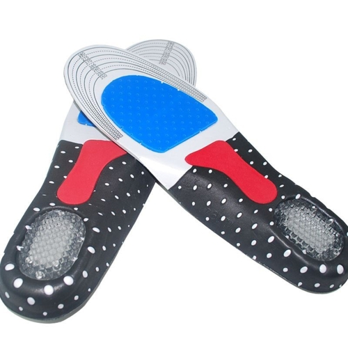 04861ee024 Men Gel Orthotic Sport Running Insoles Insert Shoe Pad Arch Support Cushion