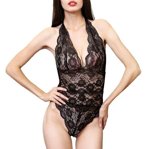 Moobody Seksowna Bielizna damska Bielizna damska Pokusa Bielizna nocna Koronkowa przezroczysta Conjoined Sukienka Bielizna Erotic Suit Hot Design