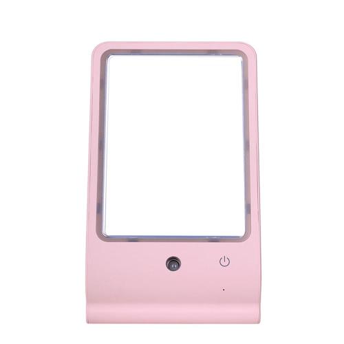 Новый USB светодиодные зеркало для макияжа Косметические Mister Sprayer Nano лица Moisture Пароход Увлажнитель Nano-спрей моды счетчик воды Портативный Женский девушки женщины для Office Home Рабочий ход