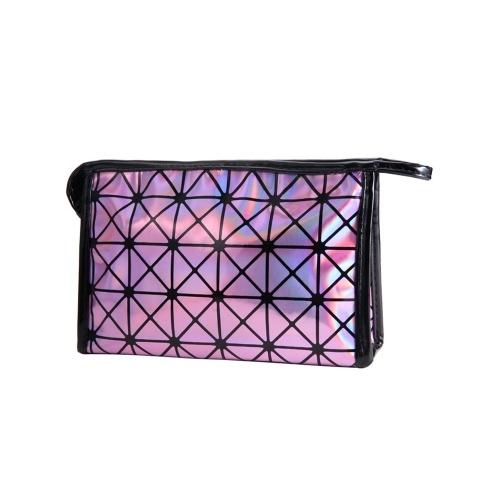 2018 Nuevo bolso cosmético geométrico de