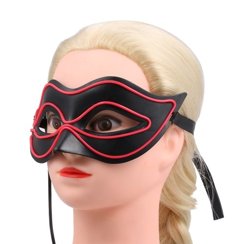 Fox Glowing Mask Wire LED Mask Sexy Half Face Flash Masks